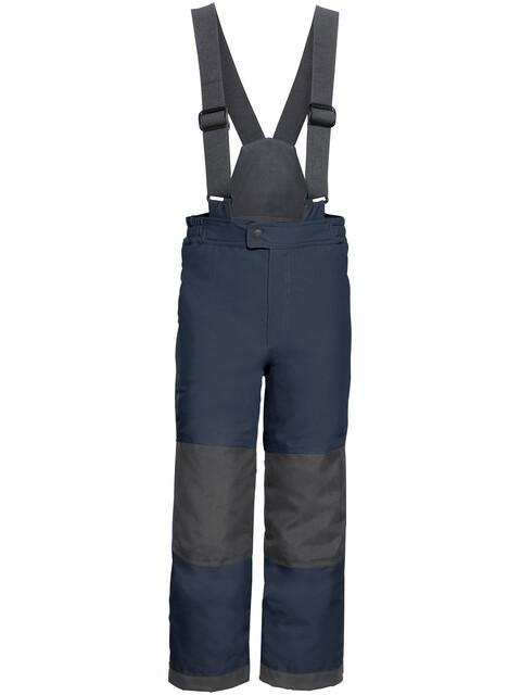 VAUDE Snow Cup III - Pantalones Niños - gris/azul
